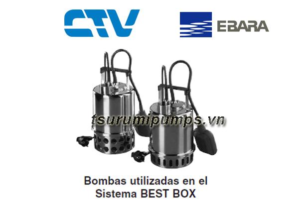 Máy bơm nước thải Ebara BEST BOX